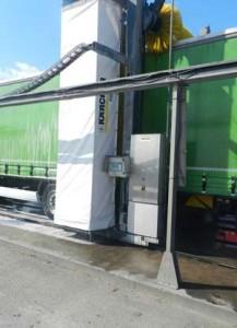 Portique Karcher pour lavage de camion